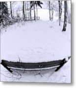 Winter Seat 2 Metal Print
