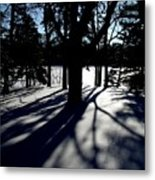 Winter Shadows 2 Metal Print