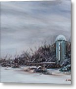 Winter Silence Metal Print