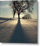 Winter Silhouette Metal Print