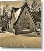 Winter Snow II Metal Print