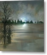 Winter Solstice Metal Print by Jean Gugliuzza