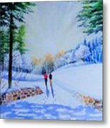 Winter Sonnet  Metal Print