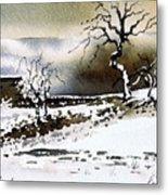Winter Stainland Metal Print