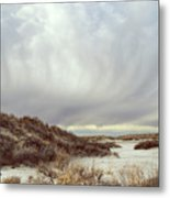 Winter Storm Clouds 2018-2289 Metal Print