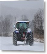 Winter Storm Jonas Metal Print