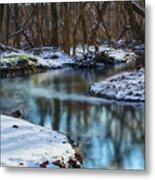Winter Stream, Pa Metal Print