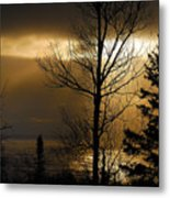 Winter Sunrise 1 Metal Print