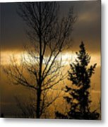 Winter Sunrise 2 Metal Print