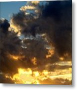 Winter Sunset Three Metal Print