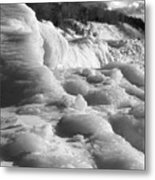 Winter Texture Metal Print