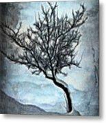 Winter Tree II Metal Print