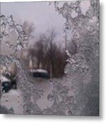 Winter View Metal Print