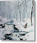 Winter Whispers Metal Print