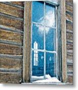 Winter Windows Metal Print