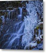 Winterfalls Metal Print