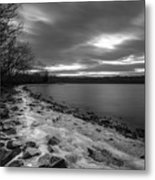 Winter's Bite Metal Print