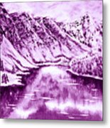 Winter's Charm Metal Print