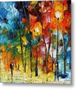 Winter's Chill Wind Metal Print