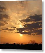 Winters Dawn Metal Print