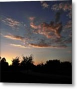 Winters Evening Metal Print