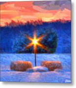 Winter's Morn Metal Print