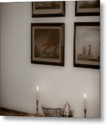 Winterthur By Candlelight Metal Print