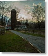 Winterwood Farm Metal Print