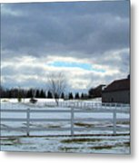 Wintery Day Metal Print