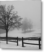 Wintry Morning Metal Print