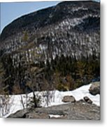 Wintry Mountainscape 1 Metal Print