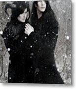 Wintry Wind Metal Print