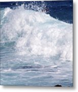 Wipe-out Metal Print