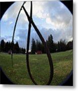 Wire Rope Loggers Noose Metal Print