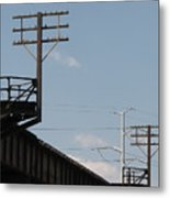 Wire Terminal Structures Metal Print