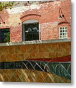 Wire Works Coffee House Metal Print