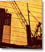 Wired Freedom Metal Print