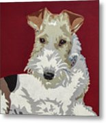 Wirehaired Fox Terrier Metal Print