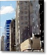 Wisconsin Ave 1 Metal Print