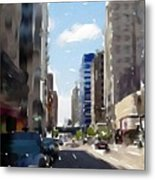 Wisconsin Ave 2 Metal Print