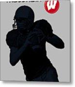 Wisconsin Football Metal Print