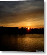 Wisconsin Sunset 10 Metal Print