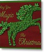 Wishing You Magic This Christmas Metal Print