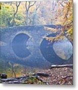 Wissahickon Creek At Bells Mill Rd. Metal Print by Bill Cannon