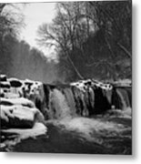 Wissahickon Snow Metal Print