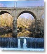 Wissahickon Viaduct Metal Print