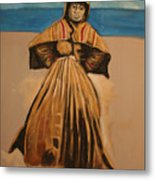 Witch By The Sea Metal Print
