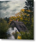 Witch Cottage Metal Print
