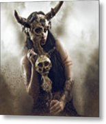 Witch Doctor 2 Metal Print