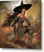 Witch Way  Metal Print